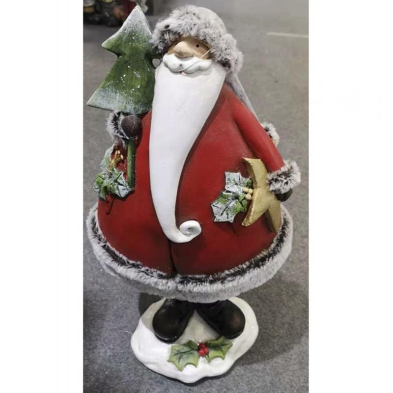 χριστουγεννιατικη φιγουρα Αϊ-Βασιλη